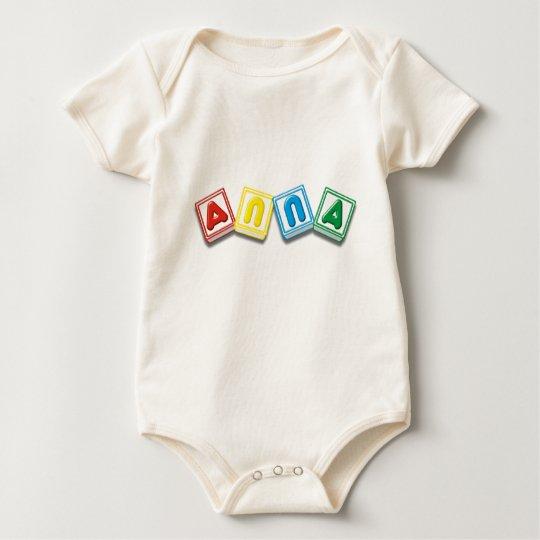 Anna Baby Bodysuit