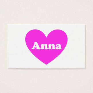 Anna Business Card