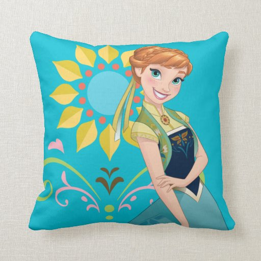 Anna | Summer Throw Pillow