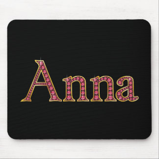 """Anna Faux-""""Ruby"""" Mouse Pad"""