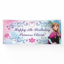 Anna Floral Birthday Banner