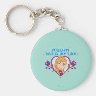 Anna | Follow your Heart Keychain