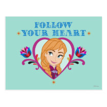 Anna | Follow your Heart Postcard