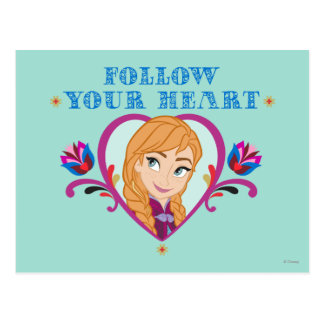 Anna | Follow your Heart Postcard