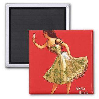 Anna Held Magnet