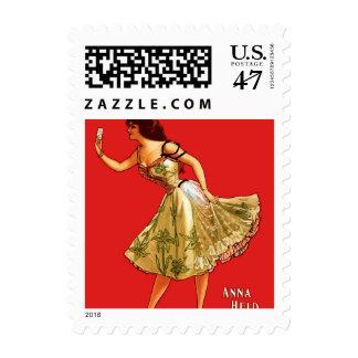 Anna Held Postage