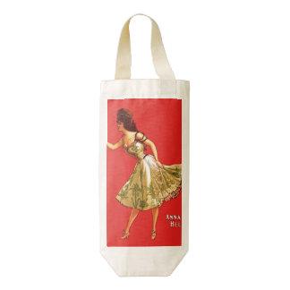 Anna Held Zazzle HEART Wine Bag