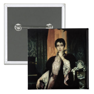Anna Karenina, 1904 Pinback Button