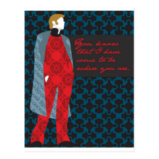 Anna Karenina Quote Gift Count Vronsky Postcard