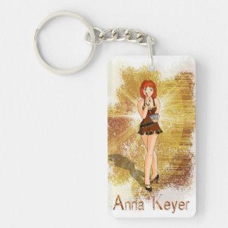 Anna Keyer Journalist Keychain