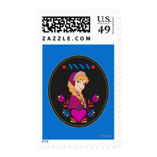 Anna - Listen to Your Heart 2 Postage Stamp