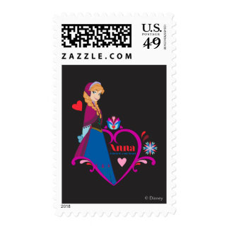 Anna - Listen to Your Heart Postage Stamp