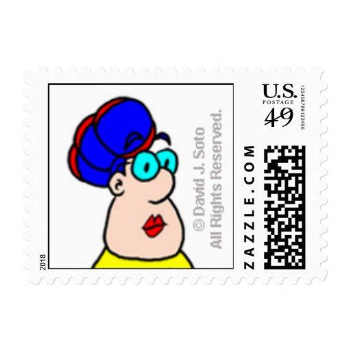 Anna Madrigal Stamp