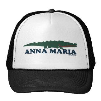 Anna Maria Island - Alligator. Trucker Hat