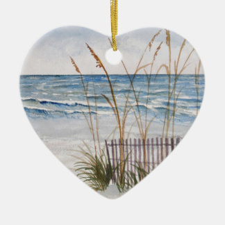 Anna Maria Island Beach Ceramic Ornament