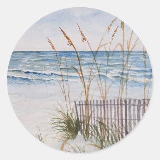Anna Maria Island Beach Classic Round Sticker
