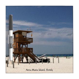 Anna Maria Island Beach Dry Erase Board