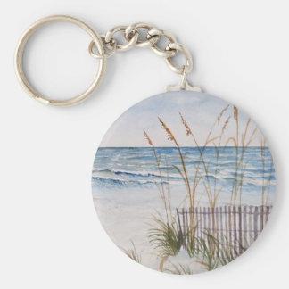 Anna Maria Island Beach Keychain