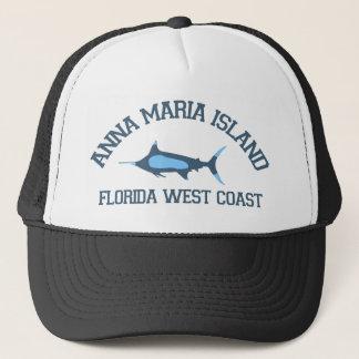 Anna Maria Island - Fishing Design. Trucker Hat