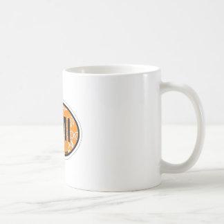Anna Maria Island - Oval Design. Coffee Mug