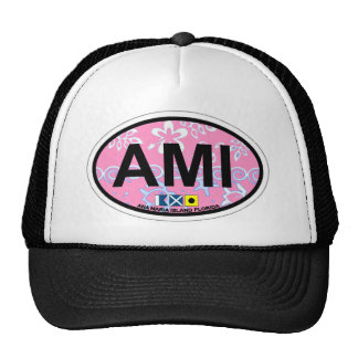 Anna Maria Island - Oval Design. Mesh Hat