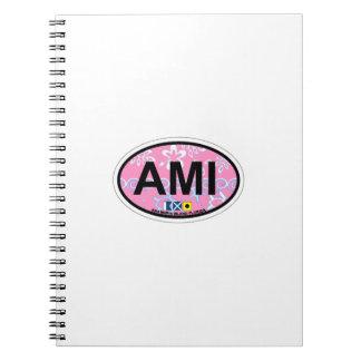 Anna Maria Island - Oval Design. Notebook
