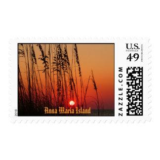 Anna Maria Island Postage Stamp