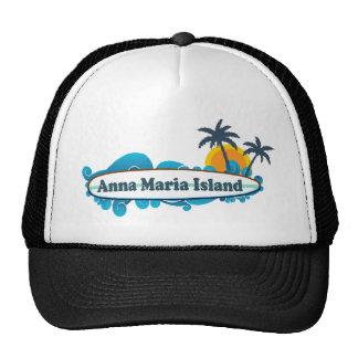 Anna Maria Island - Surf Design. Trucker Hat