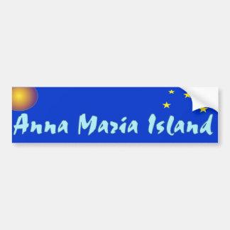 Anna Maria Stars and Sun Bumper Sticker