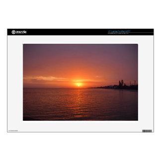 "Anna Maria Sunrise 15"" Laptop Skin"