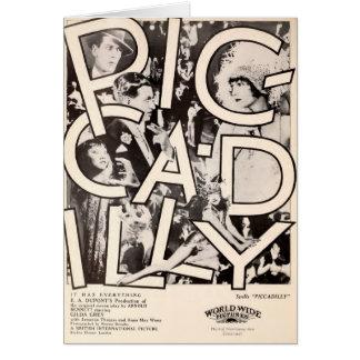 Anna May Wong 1929 silent movie exhibitor ad Card