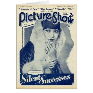 Anna May Wong Silent Screen Star Card