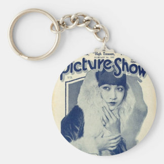 Anna May Wong Silent Star Keychain