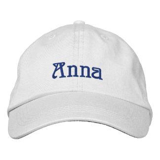 ANNA Name Designer Cap