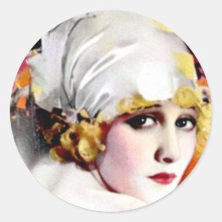 Anna Nilsson Classic Round Sticker
