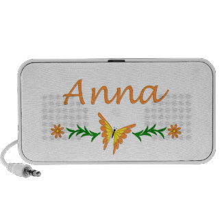 Anna (Orange Butterfly) Mini Speaker