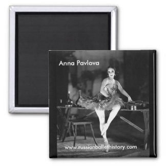 Anna Pavlova Magnet