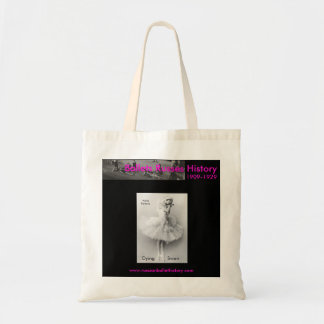 Anna Pavlova Pink Dying Swan Tote