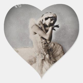 Anna Pavlova Posed en Pointe Stickers