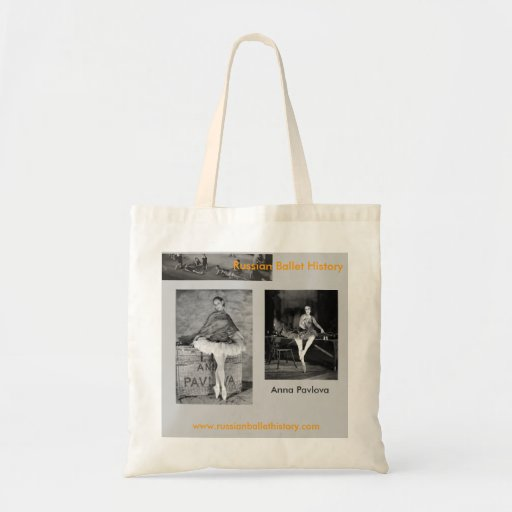 Anna Pavlova Spanish Themed Tote Budget Tote Bag