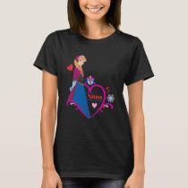 Anna | Pink Heart T-Shirt