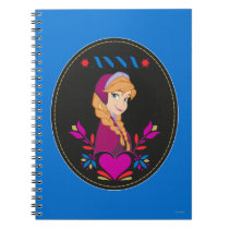 Anna | Portrait in Black Circle Notebook