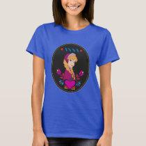 Anna | Portrait in Black Circle T-Shirt