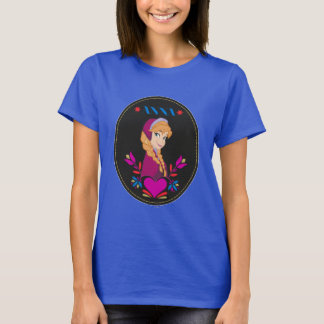Anna | Portrait in Black Circle T-Shirt