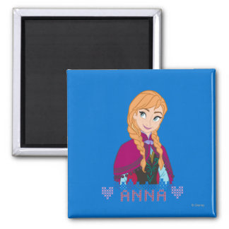 Anna | Portrait with Name Magnet