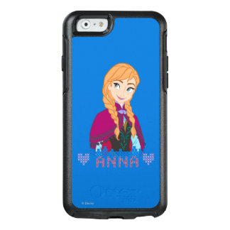 Anna | Portrait with Name OtterBox iPhone 6/6s Case