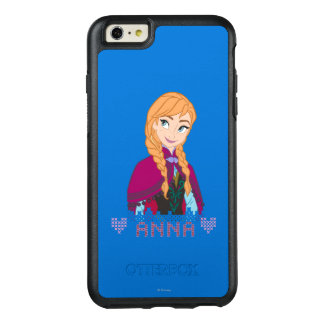 Anna | Portrait with Name OtterBox iPhone 6/6s Plus Case