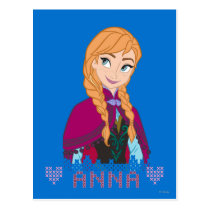 Anna | Portrait with Name Postcard