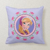 Anna | Princess Throw Pillow