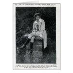Anna Q. Nilsson 1917 riding outfit portrait card
